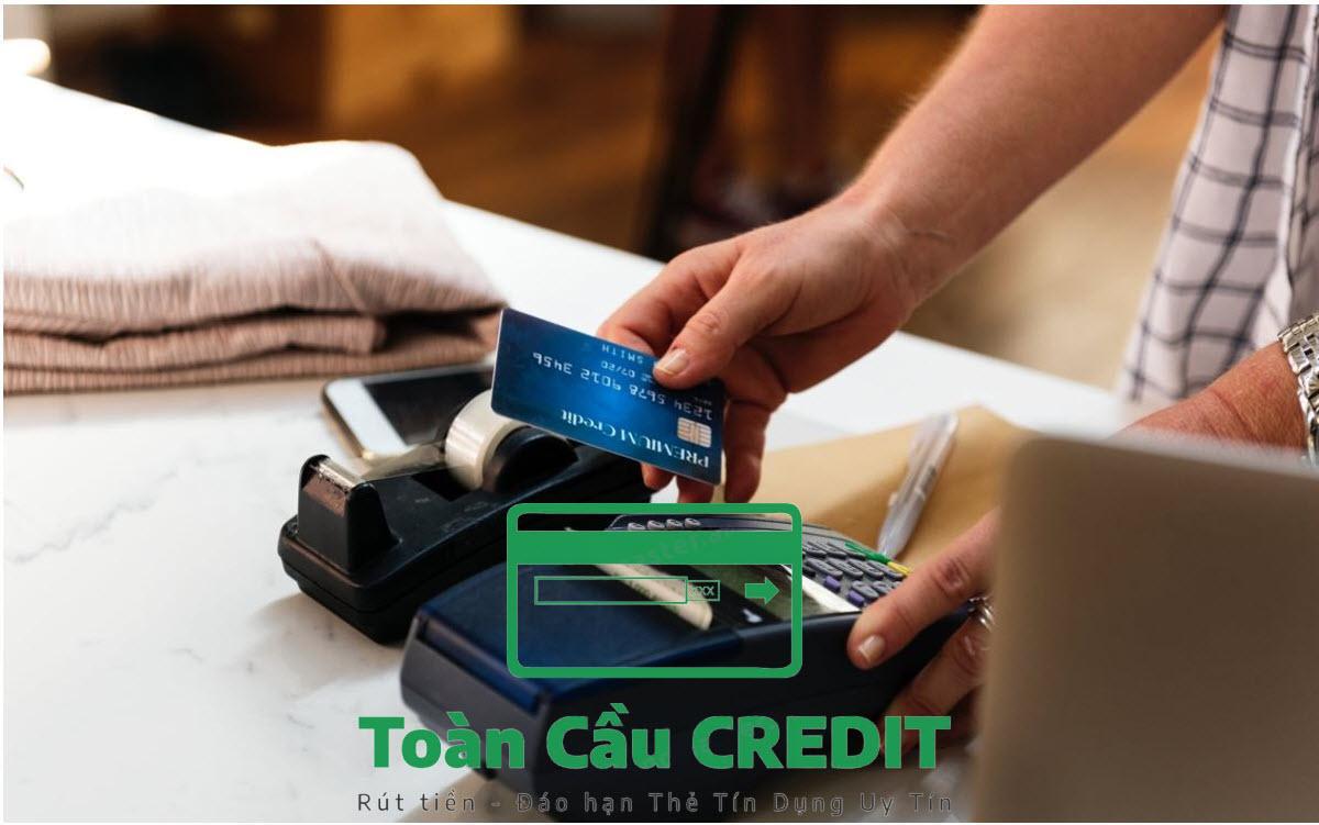 Rút thẻ tín dụng qua ATM ?