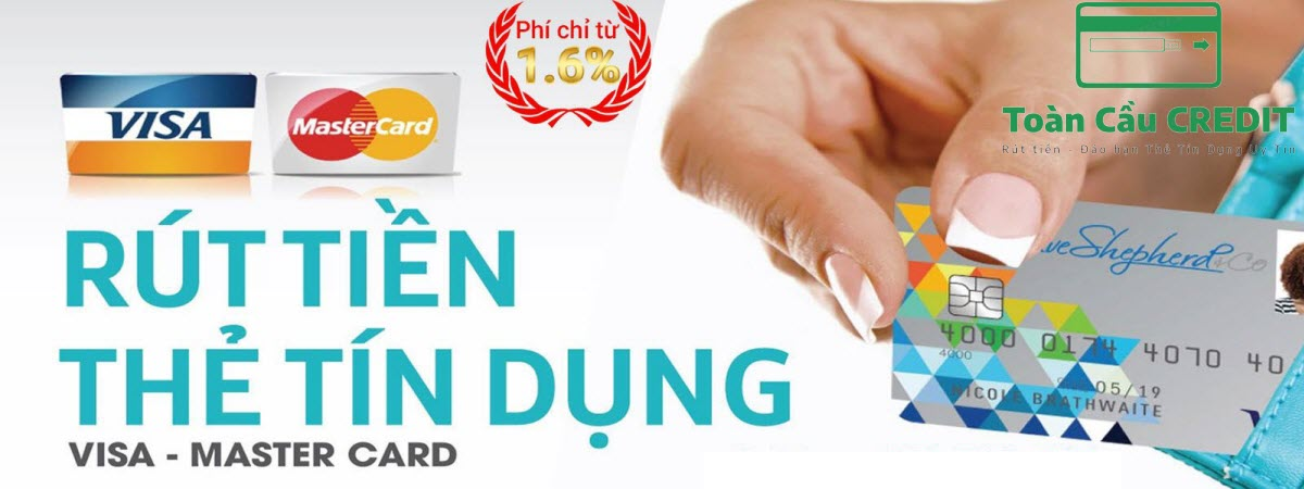 Rút tiền thẻ tín dụng Online