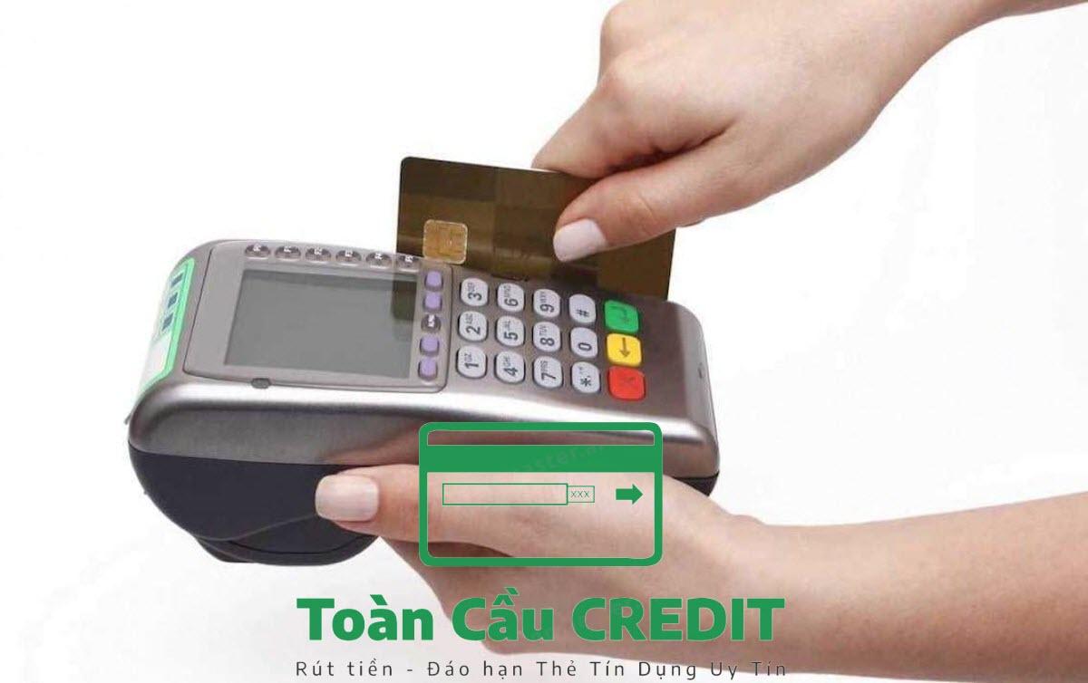 Dịch vụ rút tiền mặt từ thẻ tín dụng tại hà nội
