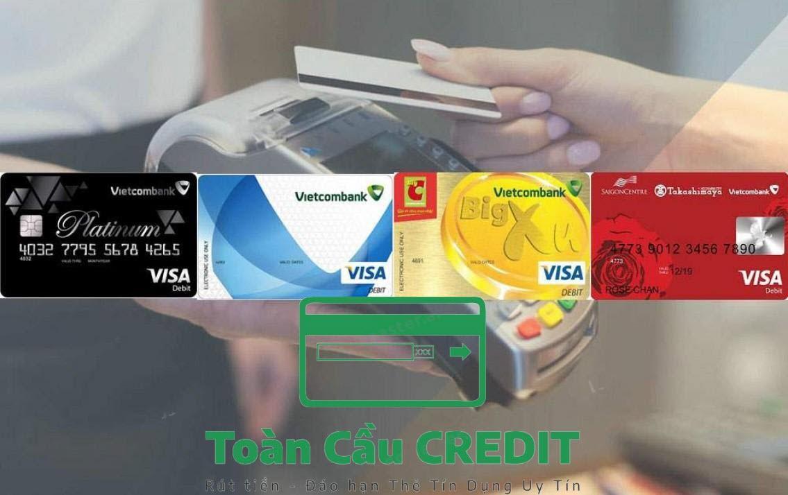 Rút tiền bằng thẻ Vpbank