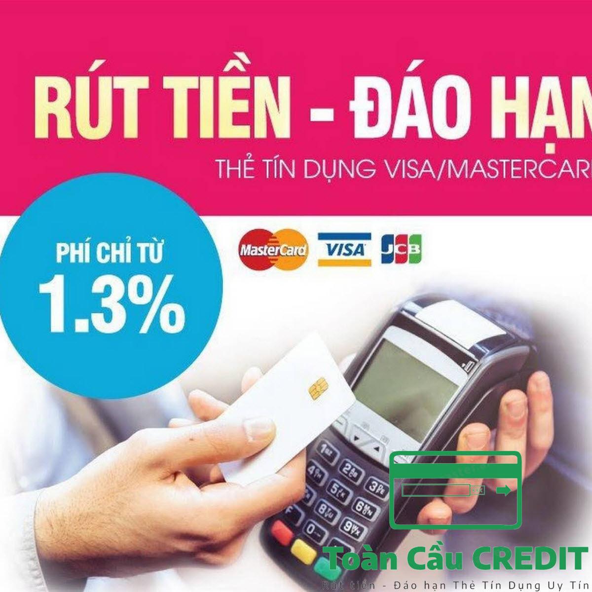 Dịch vụ rút tiền thẻ tín dụng uy tín tại Hà Nội