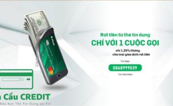 Rút tiền mặt thẻ tín dụng giá rẻ nhất ở đâu ?