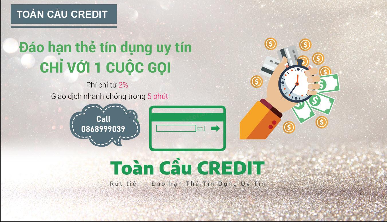 Tính phí rút tiền thẻ tín dụng