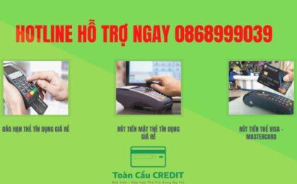 Dịch vụ đáo hạn thẻ tín dụng Sacombank