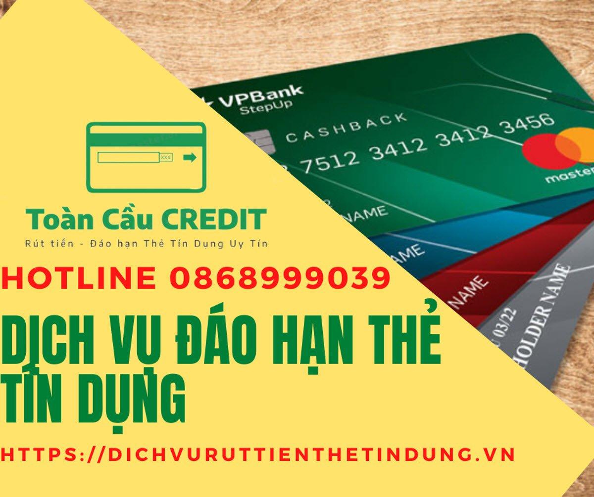 Đáo hạn thẻ tín dụng giá rẻ